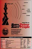 KZYX-Z More Power to More People poster